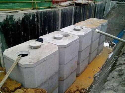 方形组合式化粪池
